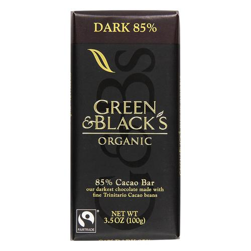 Green & Black's Organic Dark Chocolate 85%