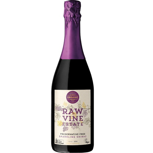 Raw Vine Sparkling Shiraz 2020