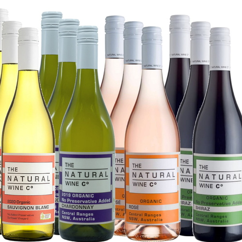 Natural Wine Co Mixed 12 Pack