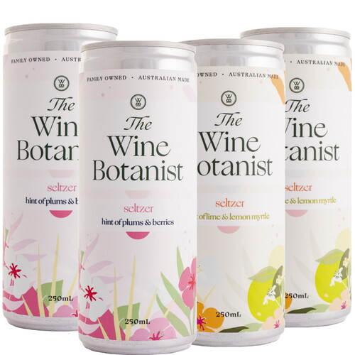 The Wine Botanist Seltzer Mixed 4 Pack